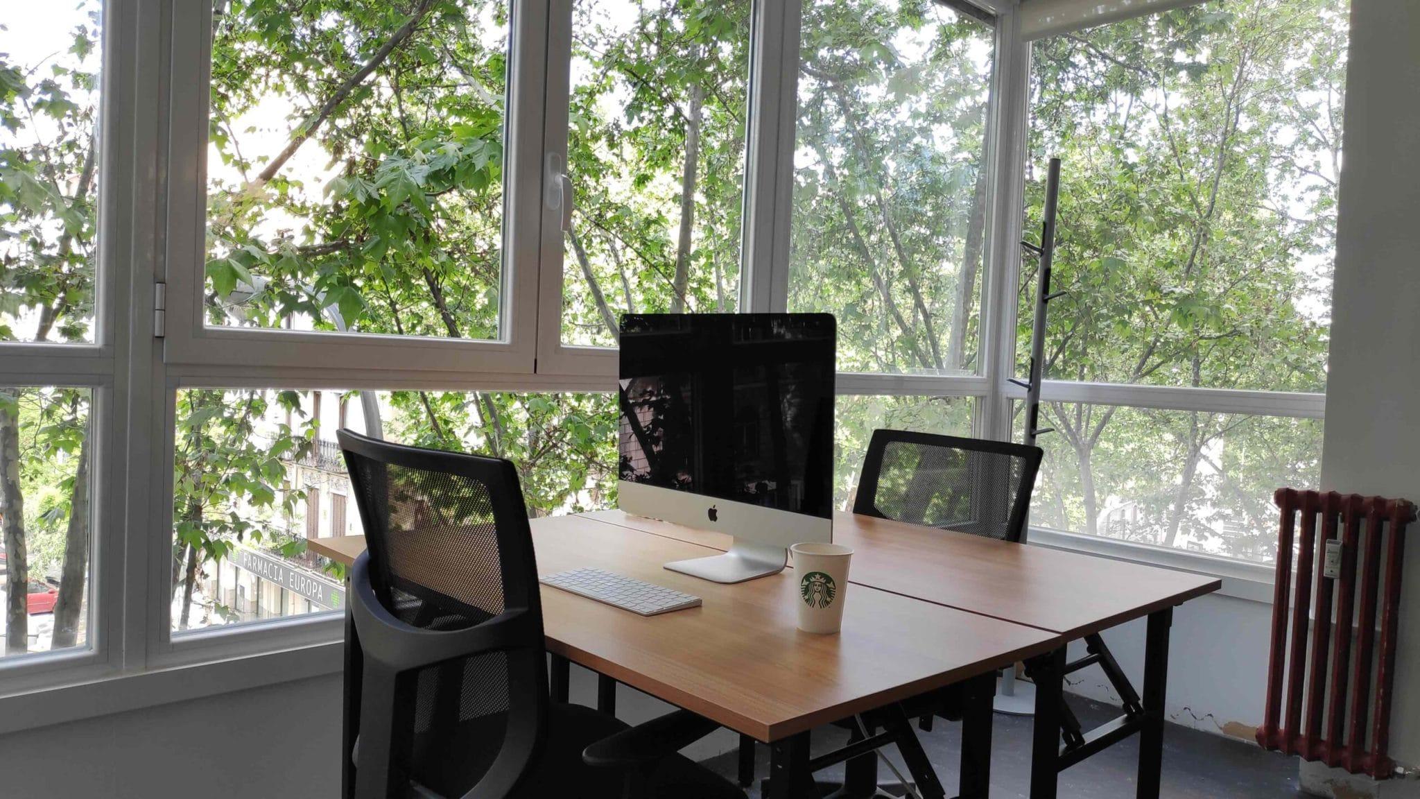 Teletrabajo, coworking, oficina
