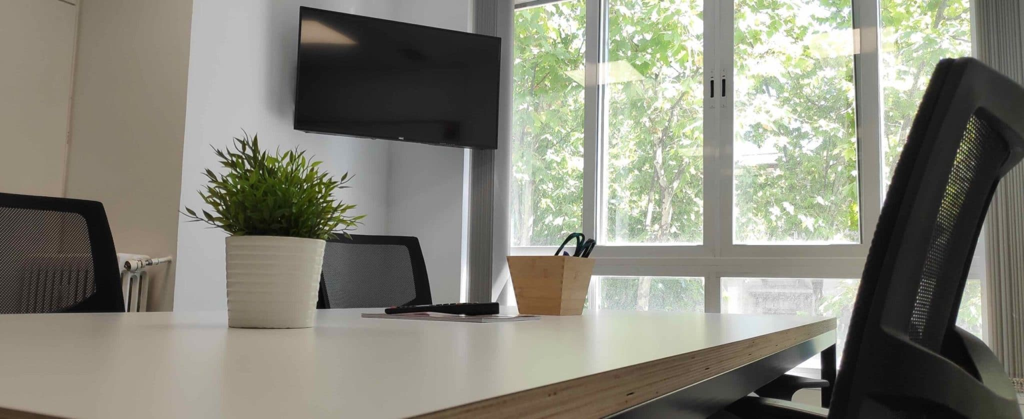 Sala reuniones. Oficina Virtual.