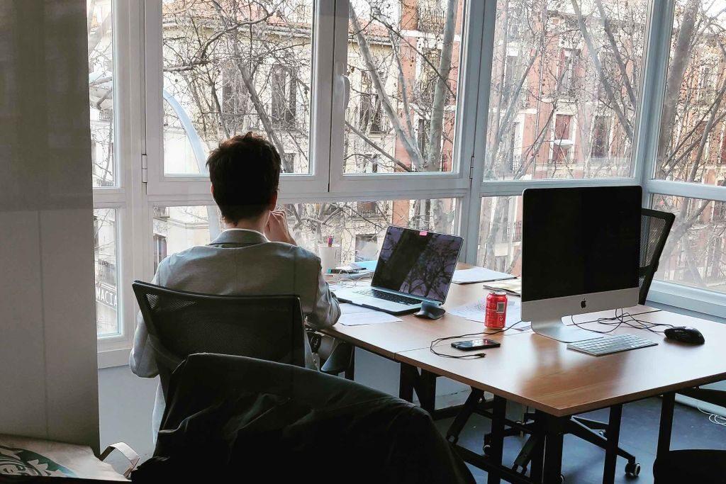 Espacio de coworking en arguelles