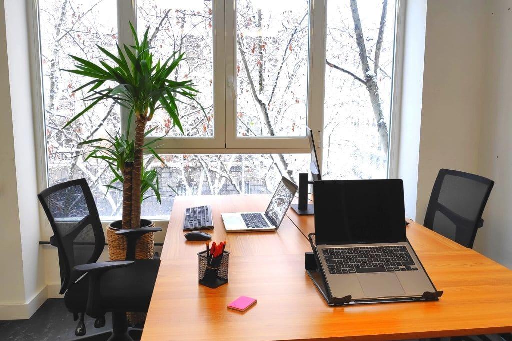 oficina compartida en coworking
