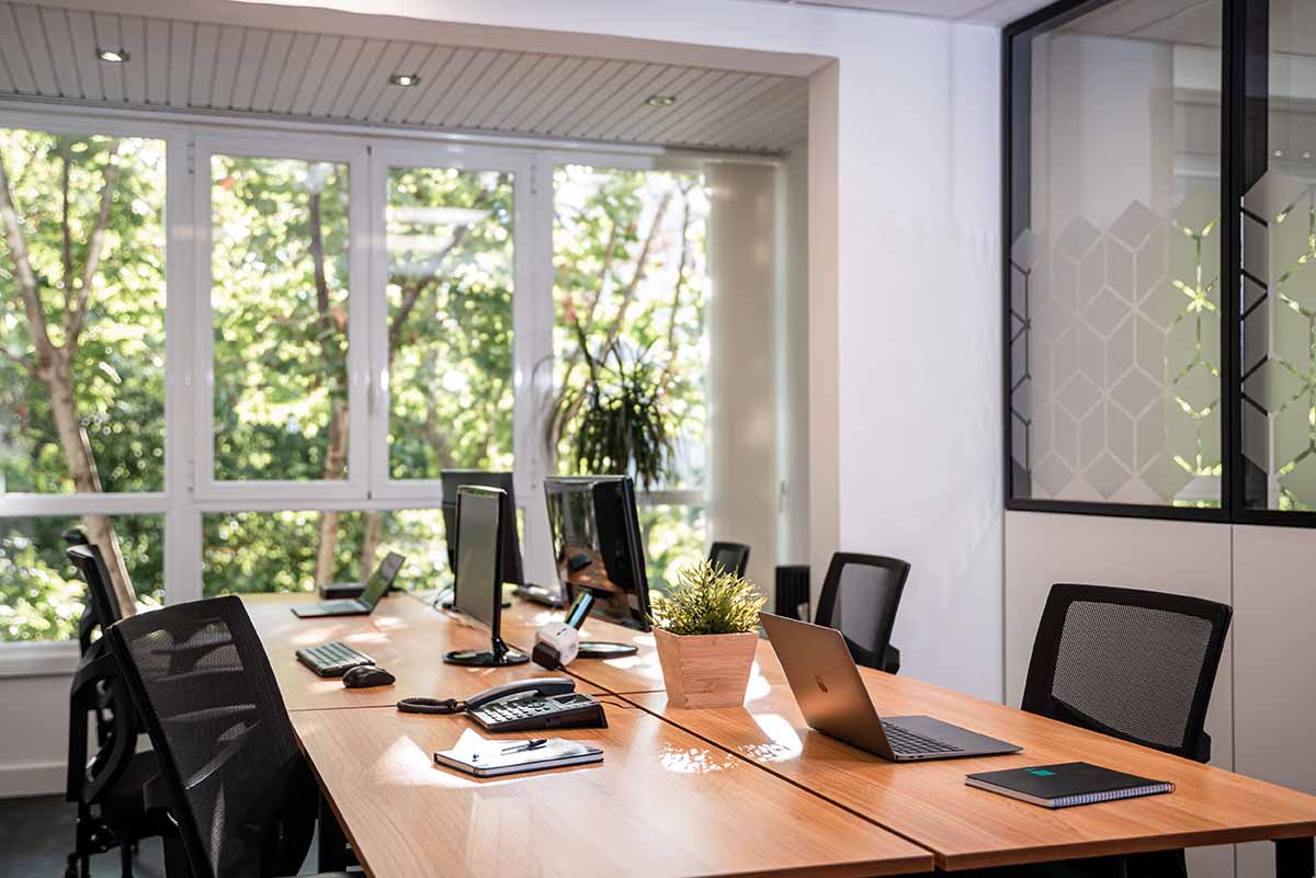 Despachos privados en coworking