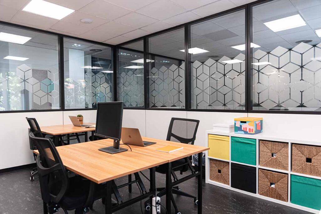 Oficina en un coworking